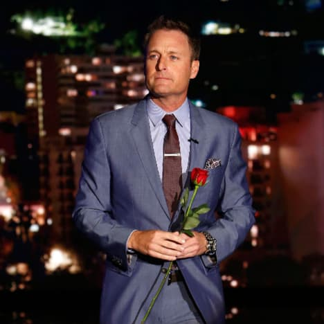 Chris with a Rose