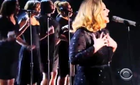 Adele Grammy Performance 2012