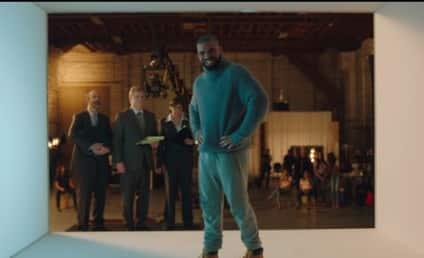 "Drake Mocks ""Hotline Bling"" in T-Mobile Super Bowl Ad"