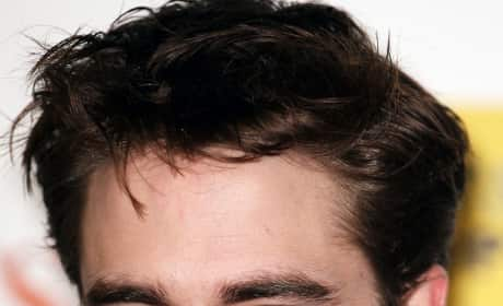 Serious, Sexy Robert Pattinson