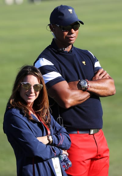 Tiger Woods and Erica Herman, Height Difference