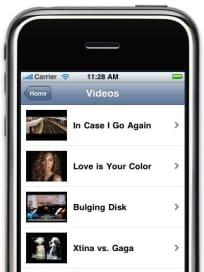 Videos Screen Shot