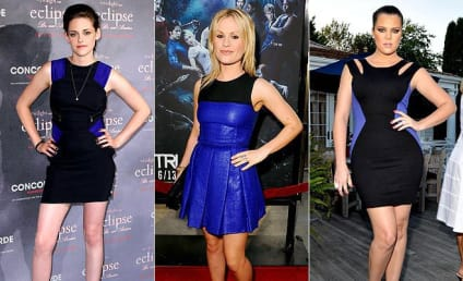Kristen Stewart vs. Anna Paquin vs. Khloe Kardashian: Black and Blue Battle!