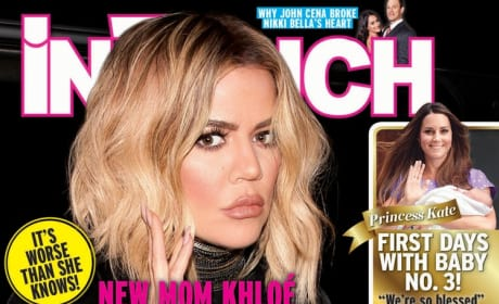 Khloe Kardashian on In Touch Cover