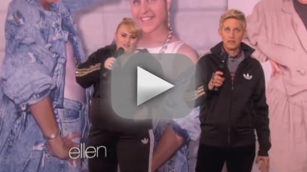 """Rebel Wilson and Ellen DeGeneres - """"Watching Cats on the Internet"""""""