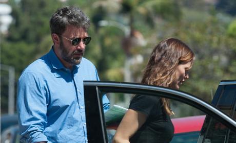 Jennifer Garner And Ben Affleck in Los Angeles