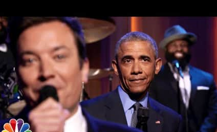 President Obama Slow Jams News with Jimmy Fallon, Mocks Donald Trump