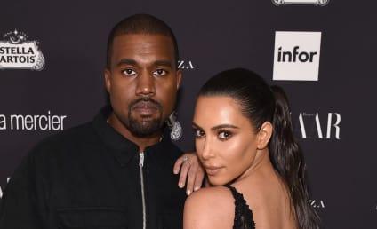 Kim Kardashian: New $5 Million Ring From Kanye West, Just 'Cause!