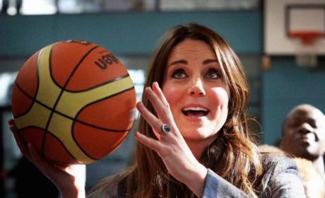 Kate Middleton Shoots, Scores!!!!