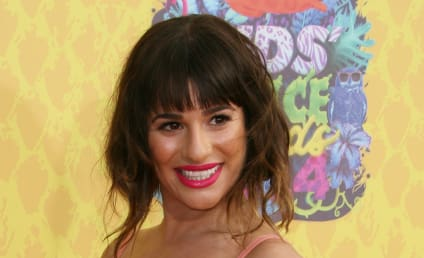 Lea Michele: Kids Choice Awards Outfit Too Revealing?