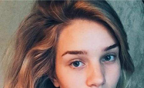 Rosie Huntington-Whiteley No Makeup