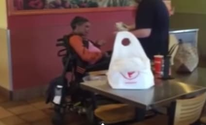 Qdoba Employee Helps Disabled Patron Eat, Act of Kindness Goes Viral