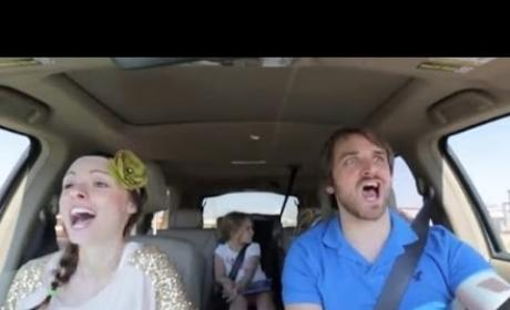Parents Sing Along to Frozen