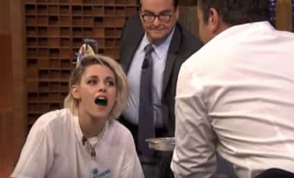 Kristen Stewart Plays Jell-O Shot Twister, Actually Has Fun