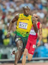 Usain Bolt Runs