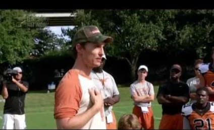 Matthew McConaughey Goes Full McConaughey in Texas Longhorns Pep Talk! Watch and Get Inspired Now!