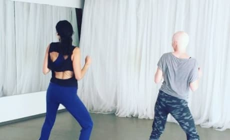 Shannen Doherty Dances One Day After Chemo Treatment