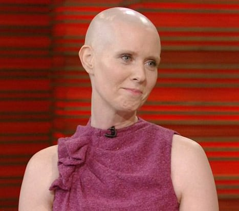 Cynthia Nixon Bald
