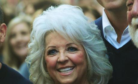 Smiling Paula Deen