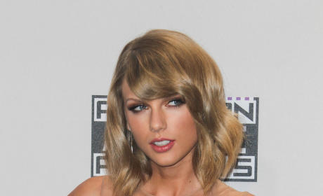 Taylor Swift at the 2014 American Music Awards