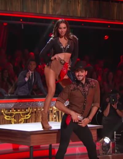 Alexis Ren and Alan Bersten Dance