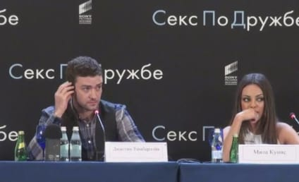 Mila Kunis Rules, Tells Off Reporter in Russian!