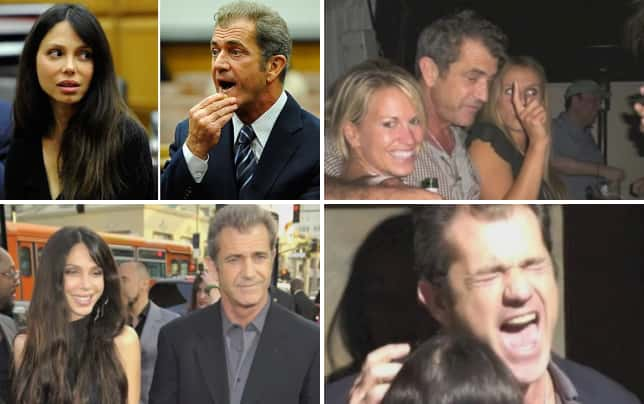 Mel gibson voicemails