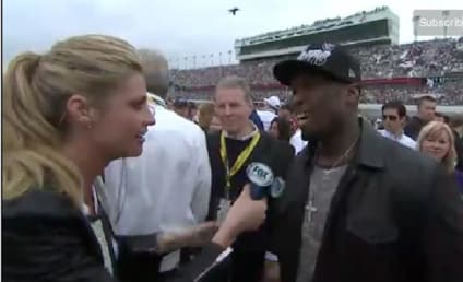 Erin Andrews Explains 50 Cent Kiss, Takes Responsibility