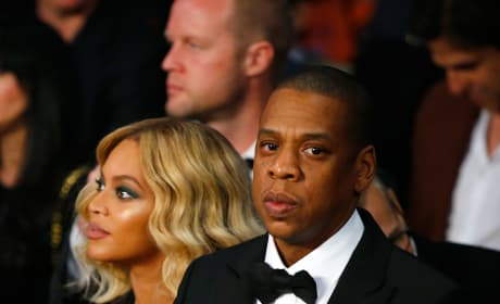 Beyonce Knowles and Jay-Z Watch Miguel Cotto Box Canelo Alvarez