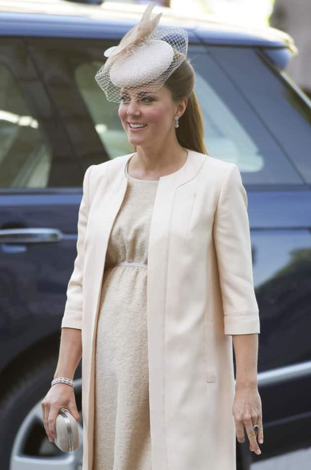 Kate Middleton Bump Photo