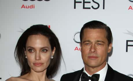 Brad and Angelina Red Carpet