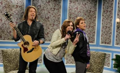 Miley Cyrus Channels Justin Bieber, Fergie, Lindsay on SNL