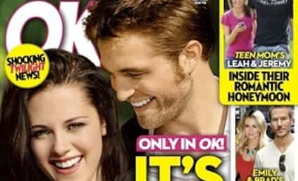 It's (NOT) Baby Time for Robert Pattinson and Kristen Stewart!!!