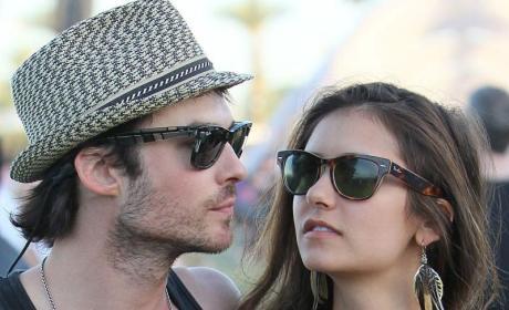 Nina Dobrev, Ian Somerhalder: Friends With Benefits?