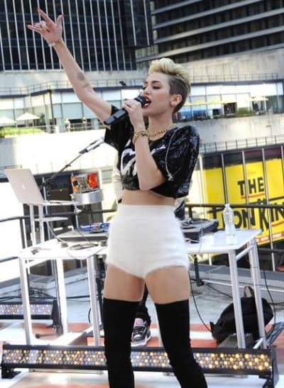 Miley Cyrus on GMA