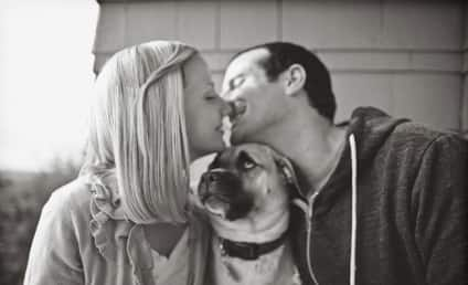 13 Dogs Included in Engagement Photos: For Better or For Worse?