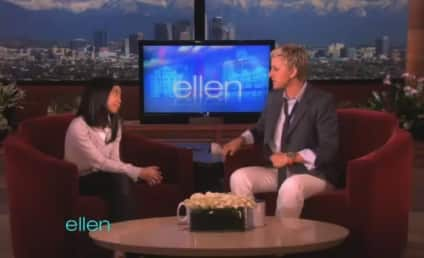 "Maria Aragon Performs ""Born This Way"" on Ellen"