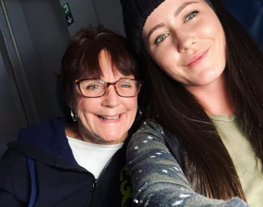 Jenelle and Barbara Selfie