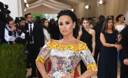 Demi Lovato Laughs Off Nicki Minaj Side-Eye, Apparent Shade
