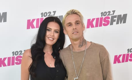 Aaron Carter and Madison Parker