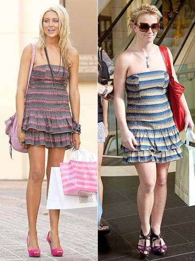 Stephanie and Britney