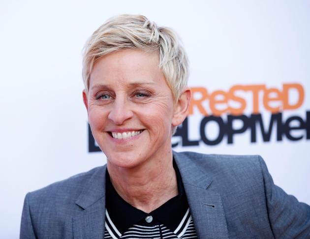 Ellen DeGeneres on the Red Carpet