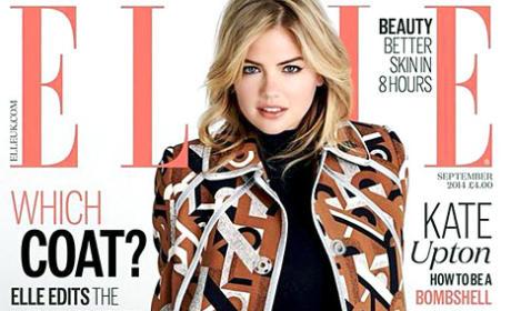 Kate Upton Elle UK Cover