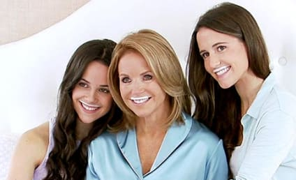 "Katie Couric, Daughters Star in ""Got Milk"" Ad"