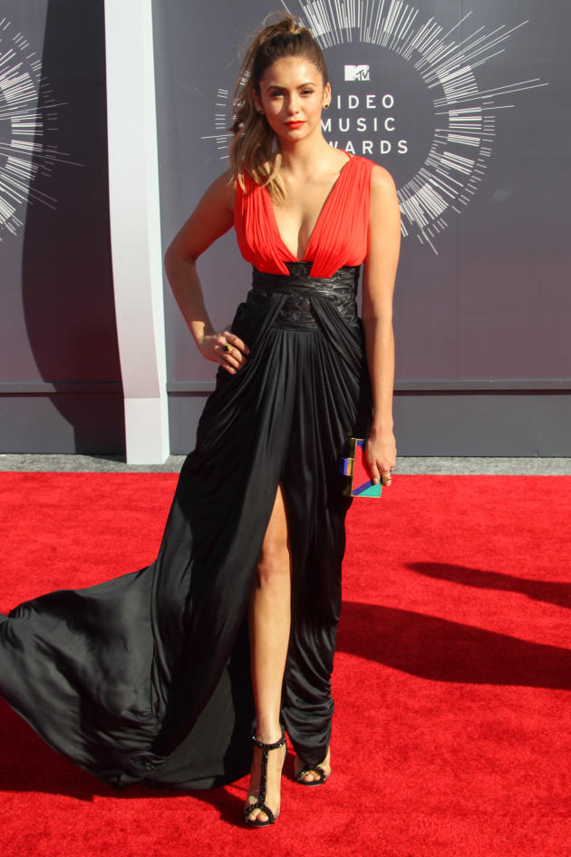 Nina Dobrev at the 2014 VMAs
