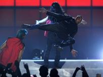 Chris Brown Kung Fu!
