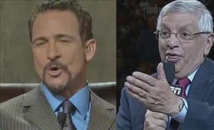 David Stern to Jim Rome: You Still Beat Your Wife?