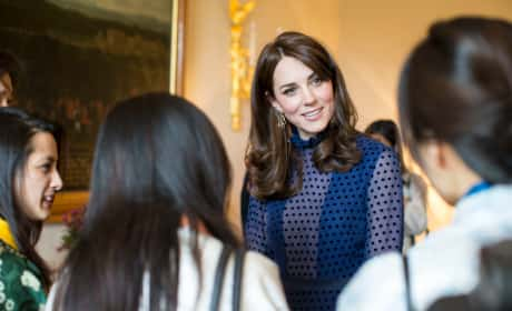 The Duchess of Cambridge: Pre-India & Bhutan Tour Reception
