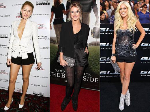 Blake, Julianne, Heidi