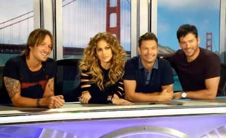 American Idol Season 14 Judges in San Francisco